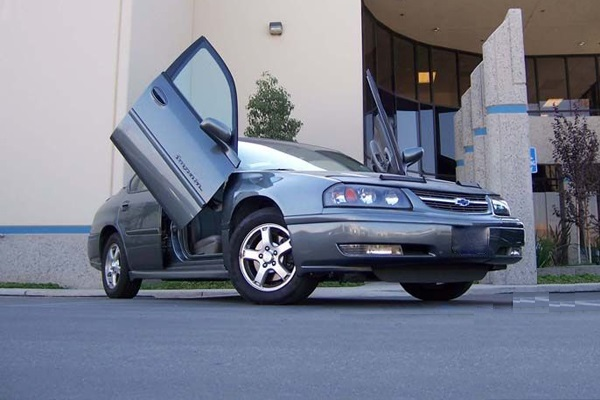Chevrolet Impala Suicide Doors Chevrolet Impala Lambo Doors