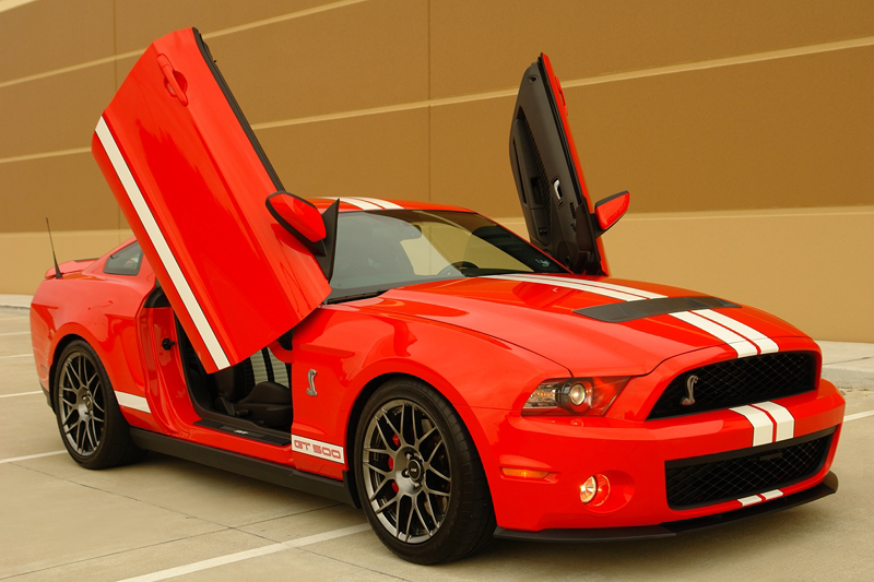 Mustang 2015 2016 Bolt On Lambo Doors Vertical Doors