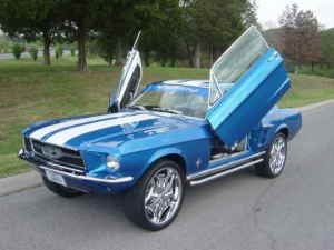 Ford Mustang Suicide Doors Ford Mustang Lambo Doors