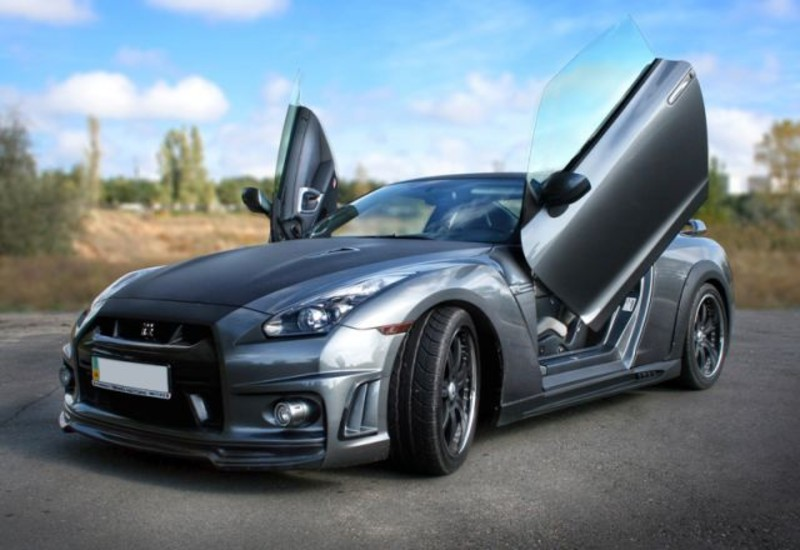 Nissan Gtr Lambo Doors on Nissan Murano Parts