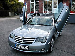 Chrysler Crossfire Suicide Doors Chrysler Crossfire Lambo