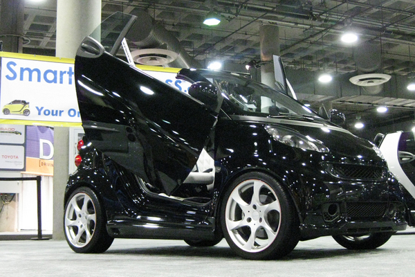 Fortwo 98 07 Bolt On Lambo Doors Vertical Doors 5410
