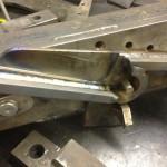 SDI lambo door fab welding in the gussets