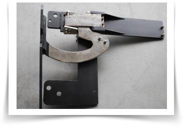 Weld on lambo door with flanges welded then installed